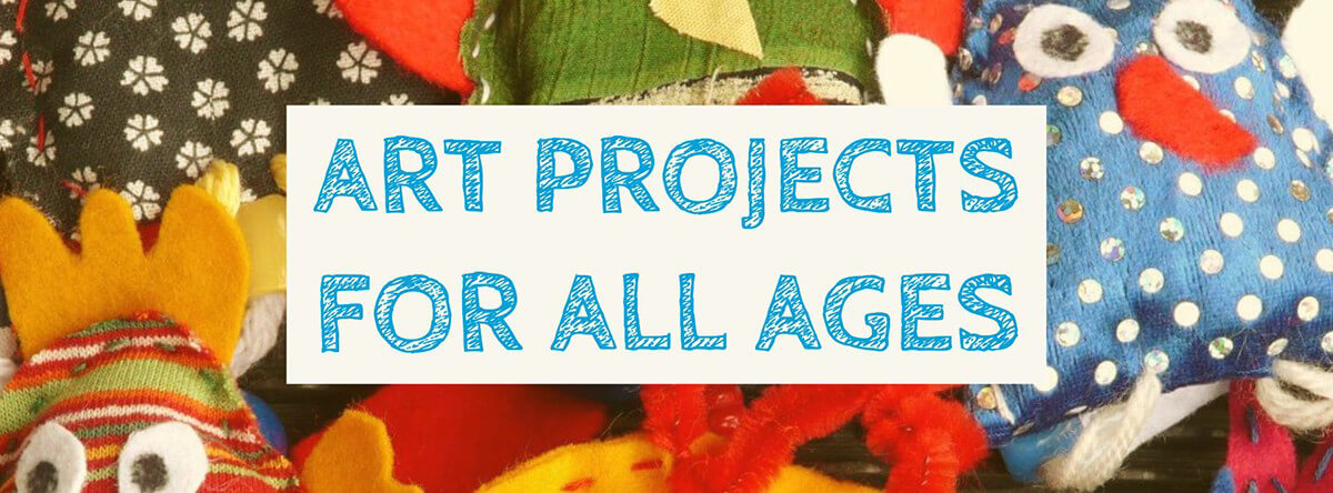 Art projects Facebook banner
